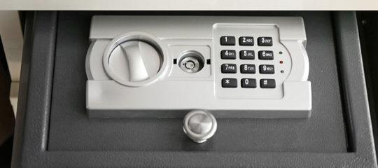 Différents types de coffre-fort de sécurité